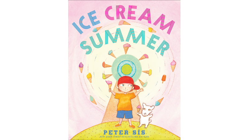 Caldecott Honoree Peter Sis Discusses The Inspiration For His Newest Picture Book Ice Cream Summer Giveaway On Our Minds