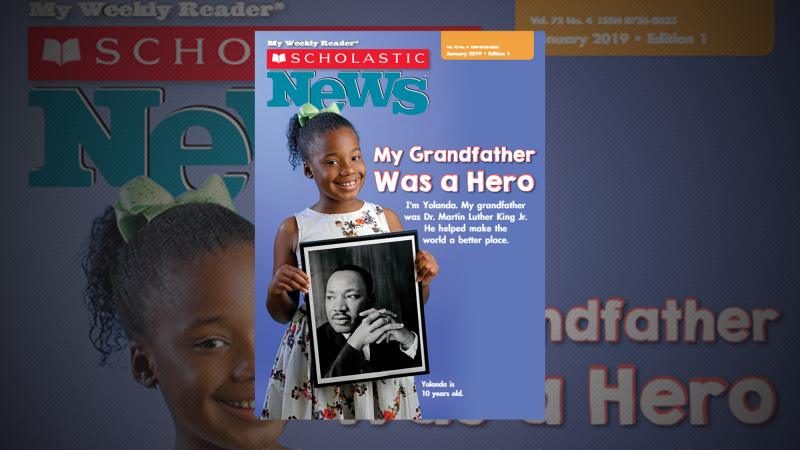 Scholastic News Resources For Teaching Dr Martin Luther King Jr S