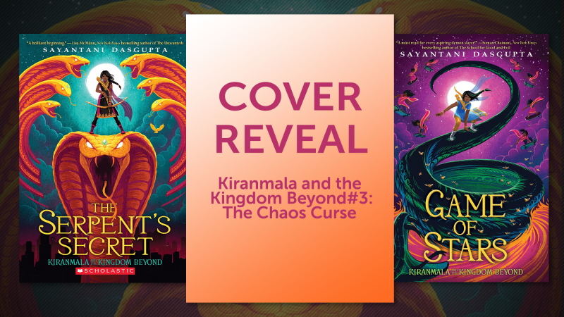 Cover reveal for Kiranmala and the Kingdom Beyond #3: The