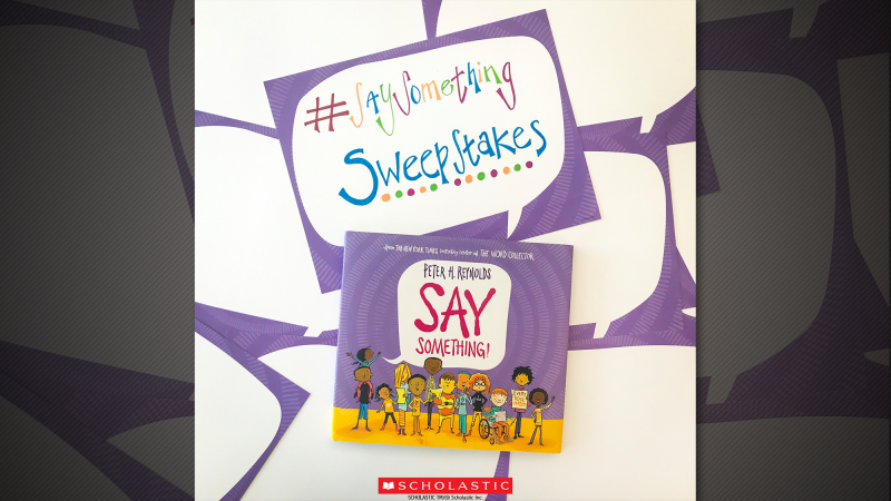 Enter our Say Something sweepstakes for a chance to win an
