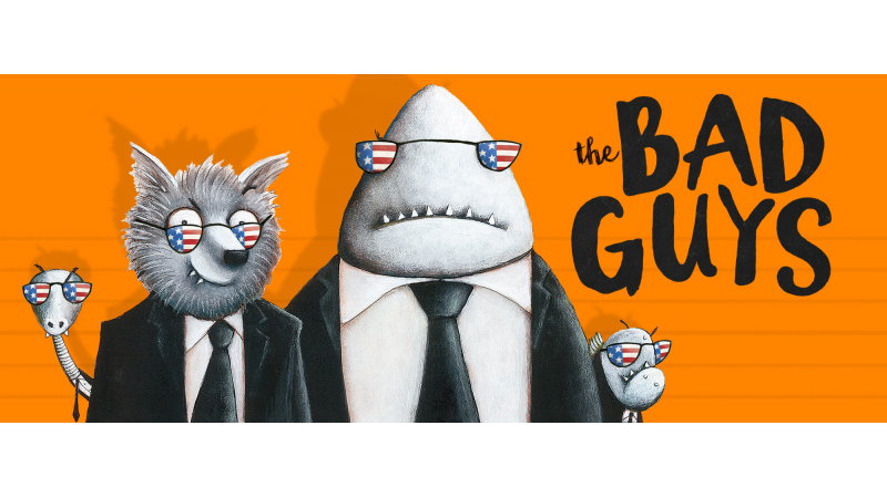 the bad guys mission to america bestselling author aaron blabey is