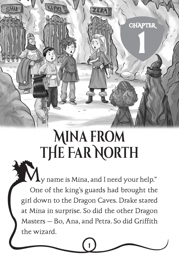 Read an excerpt of Dragon Masters #9: Chill of the Ice Dragon | On