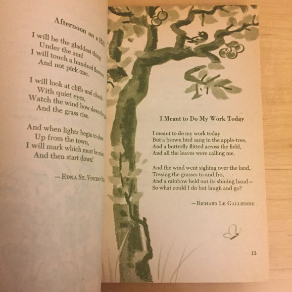 throwback thursday  poetry anthologies