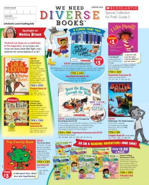 First Look Flyer Scholastic Reading Club December 2016 On Our Minds